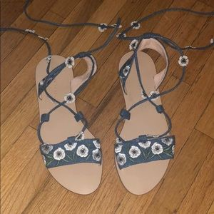 Never work Loeffler Randall sandals
